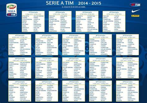 Calendario Serie A Napoli Calendario Serie A 2015 Partite Di Oggi 18 Gennaio