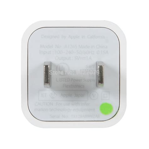 100 original usb wall charger ac adapter for apple iphone 5 5s 4 4s 3gs in mobile phone
