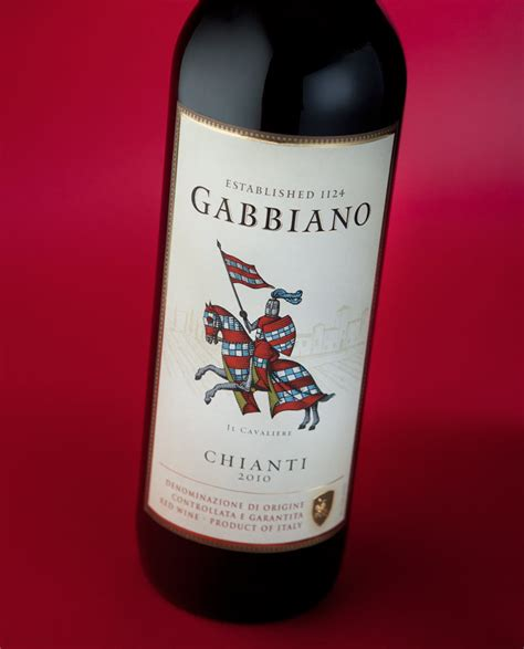 gabbiano winery gabbiano chianti bottle bottle and wine