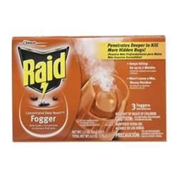 raid 1 5 oz reach insect foggers 3 pack 81595