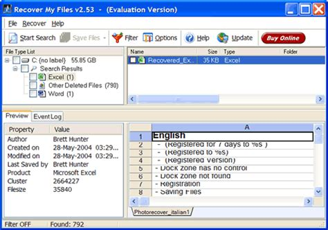 How To Recover Deleted Data From An Excel Spreadsheet by Recover My Files For Windows 7 With