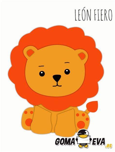 molde para goma eva de leon 16 best images about moldes on pinterest animals