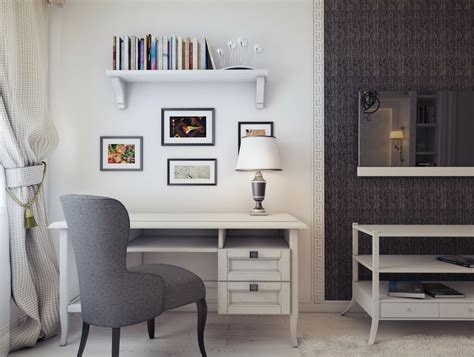 small home office design inspiration gray white home office design interior design ideas