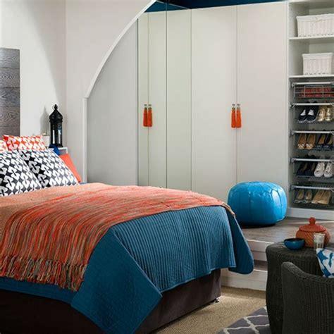 weißes und blaues schlafzimmer wohnzimmer blau surfinser