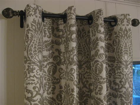 how to make curtains from fabric frugal home ideas easy no sew curtains