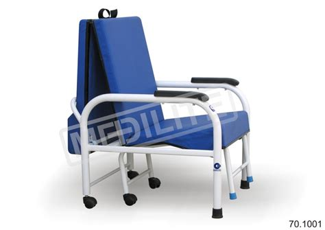 Hospital Chair Bed by Attendant Chair Bed 70 1001 Mediliteindia