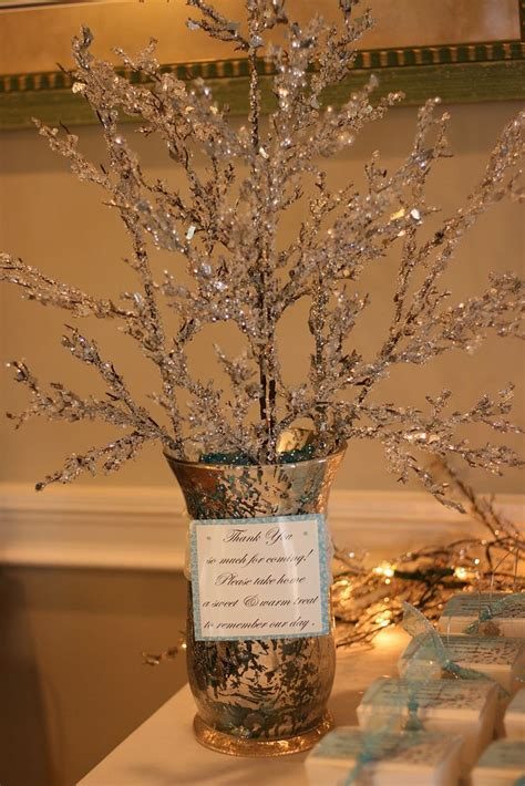 winter bridal shower centerpieces celebrating the moments winter a