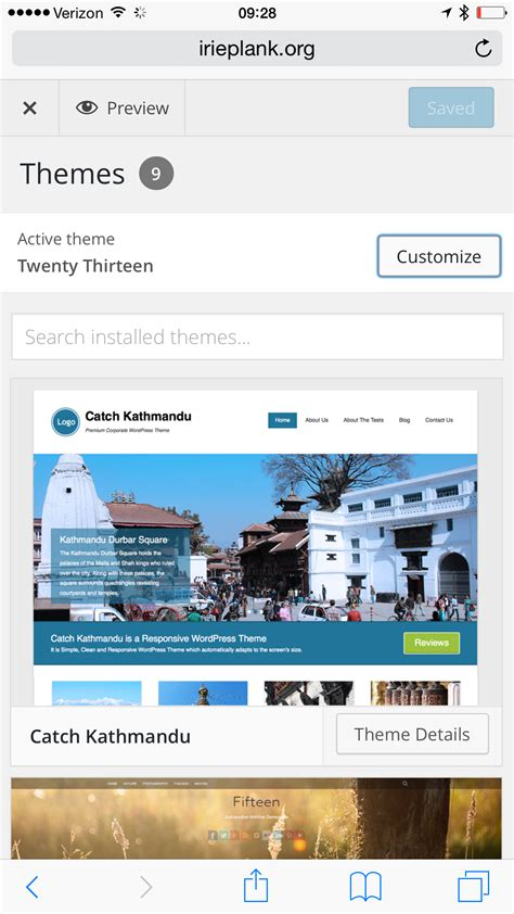 quiz themes wordpress wordpress themes for quiz previewing and switching themes