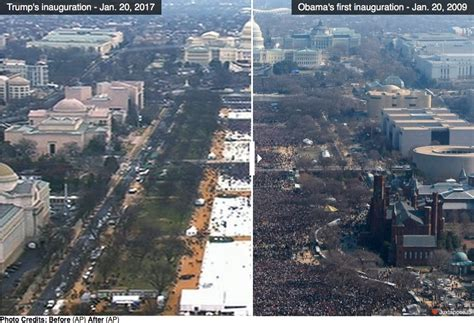 picture of inauguration crowd more fake news media contrived photos to diminish trump s