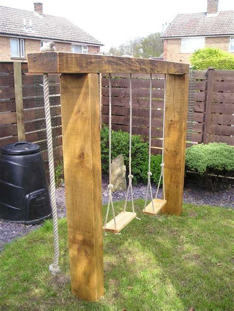 garden swing ideas great garden swing ideas to ensure a gregarious time for