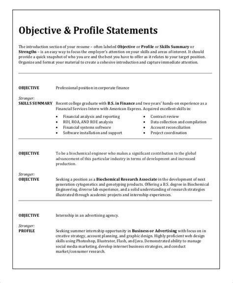 career objective statement examples hitecauto us