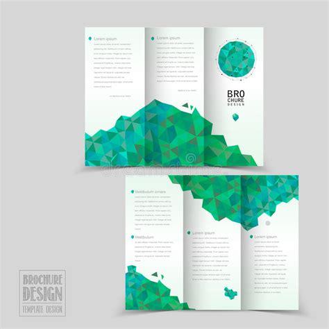 Simplicity Tri Fold Brochure Template Design Stock Vector Illustration Of Contemporary Layout 9x12 Brochure Template