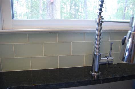 glass mosaic tile lowe s stainless steel tiles backsplash