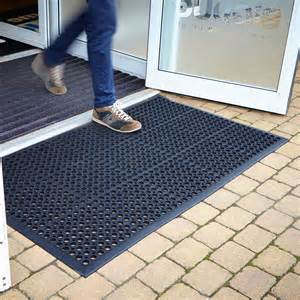 large outdoor entrance mats rubber saftey mat flooring