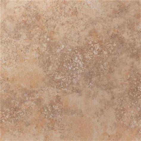 Home Depot Porcelain Floor Tile by U S Ceramic Tile Tuscany Desert 18 In X 18 In Glazed
