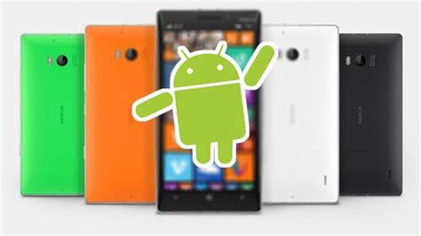 how to fan work on android android powered nokia lumia from microsoft is work in progress