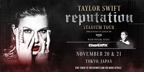 taylor swift reputation tour lineup taylor swift announces asia stops for reputation tour