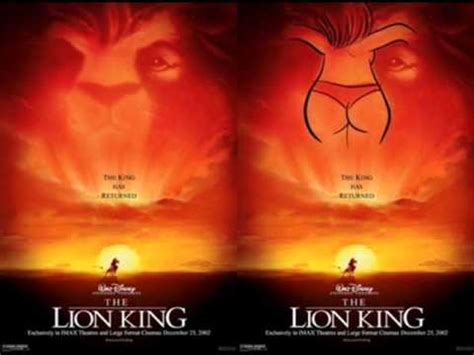mensajes subliminales rey leon mensaje subliminal del rey le 243 n youtube