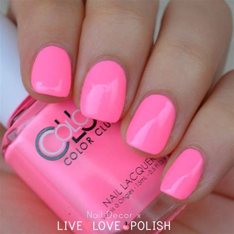 pink nail colors color neon pink www pixshark images galleries with