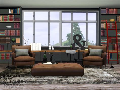 sims 4 cc home decor cc by shenice93 spring time cherry wondymoon s palladium home library