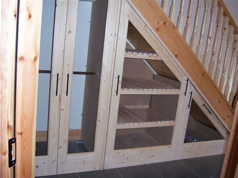 Closet Under Stairs During Tornado ? Railing Stairs And Kitchen Design : The Idea Of Closet