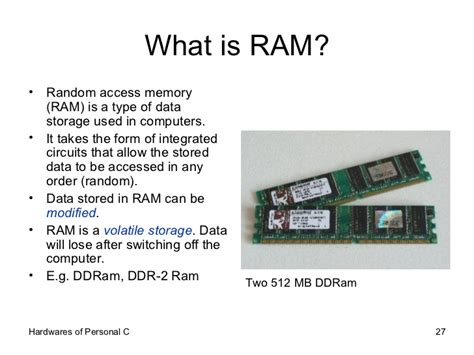 what is a ram what is ram random access