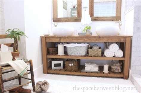 How To Make A Bathroom Vanity Diy Bathroom Vanity Ideas For Repurposers