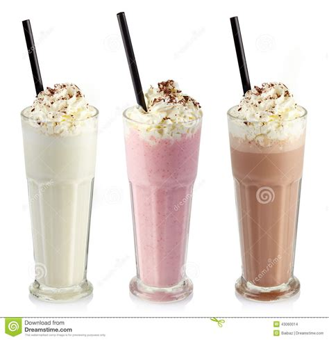 milkshake photography milkshakes stock photo image 43060014