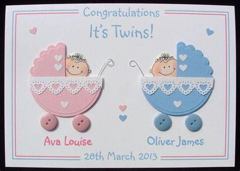 personalised handmade new baby card