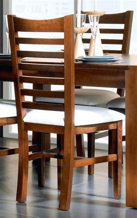 silla clasica respaldo madera pino en  sillas comedor madera comedores de madera