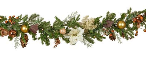 Decorative Garland   Vermont White Battery Operated LED