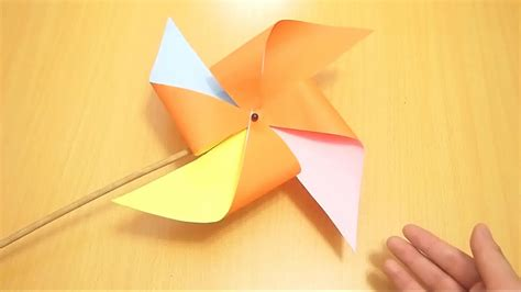 How To Make Paper Windmill Fans - how to make paper windmill fans