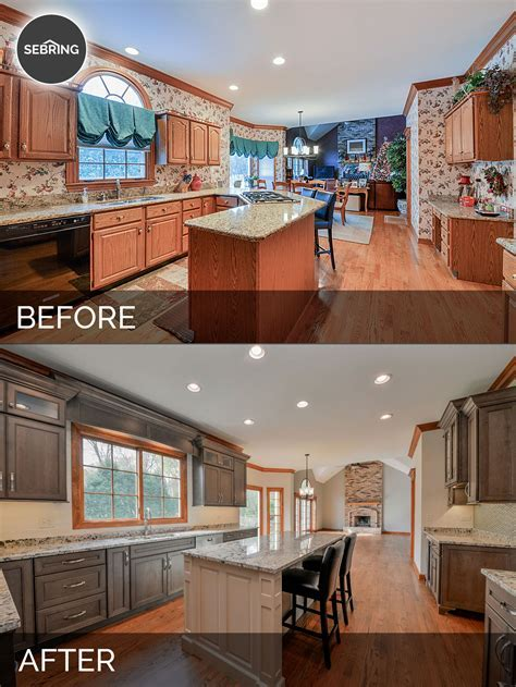 Scott & Karla's Kitchen Before & After Pictures   Home