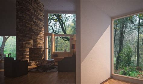 louis kahn fleisher house the space is in the plan interior surrounding living room the fisher house