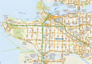 Vancouver Subway Map by Vancouver Transit Map Images