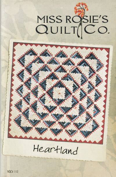 Heartland Quilt Shop by Heartland Quilt Pattern By Miss Rosie S Quilt Co