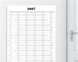 Kalender 2017 A1 2017 Wall Calendar A1a2a3 Size Printable Calendar 2017