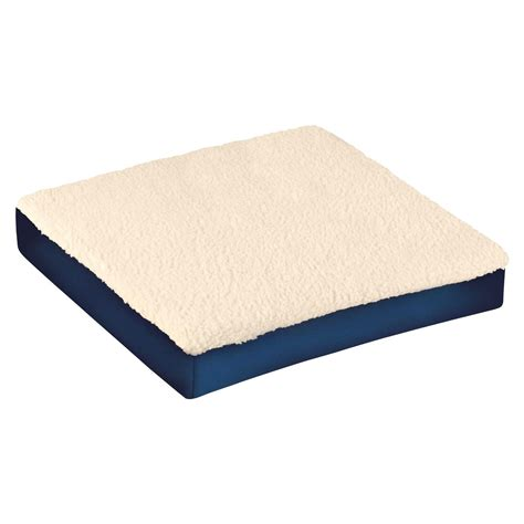 gel cushions for recliners 3 quot pressure relief fleece wheelchair gel seat cushion car