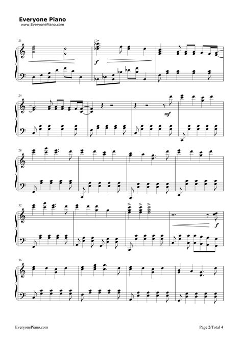 house of gold piano sheet music house of gold twenty one pilots stave preview 2 free piano sheet music piano chords