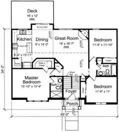 bi level floor plans with attached garage bi level home plan