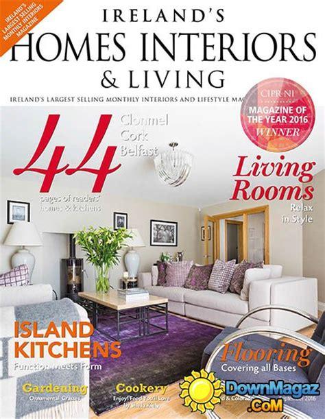 home design magazine ireland ireland s homes interiors living september 2016