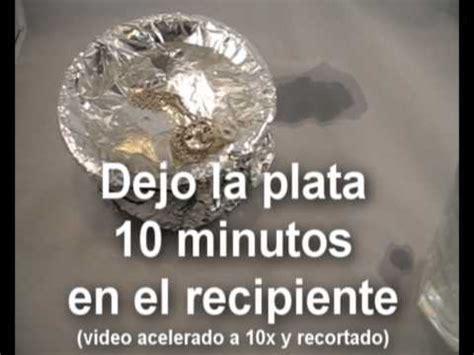 limpiar cadena de plata negra truco limpiar plata youtube