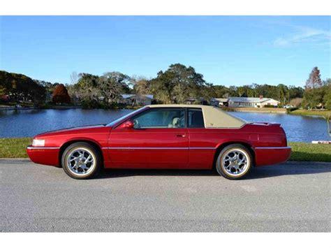 99 Cadillac Eldorado by 1999 Cadillac Eldorado For Sale Classiccars Cc 1062899
