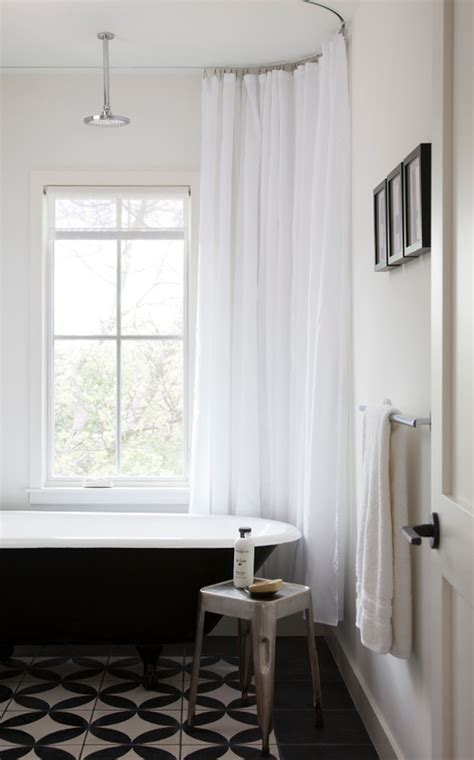 recessed shower curtain track recessed curtain rail curtain blog