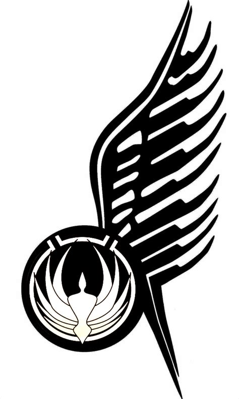 bsg wing tattoo v3 by navyaerophys on deviantart