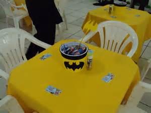 Batman Centerpieces Dani Coradini D Festa Batman