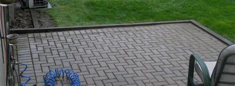Paver Patio Edging Options Paver Patio With Wood Edging Help Doityourself Community Forums
