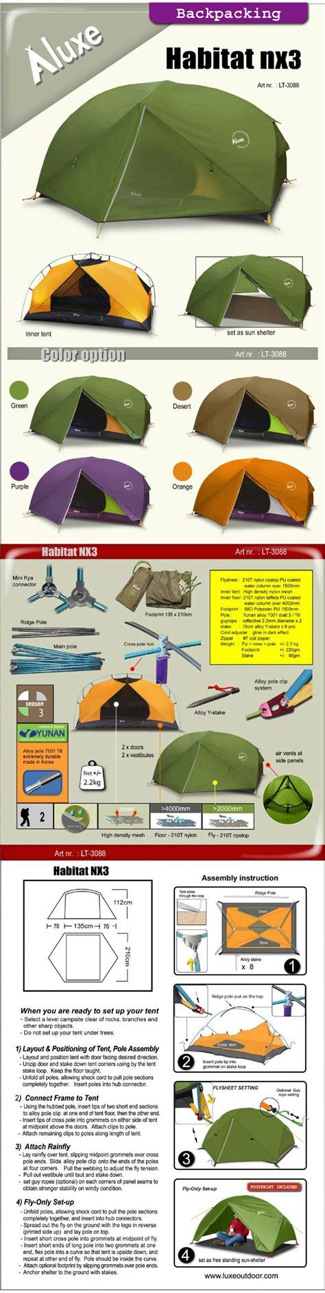 Tenda Luxe Habitat Nx luxe outdoor