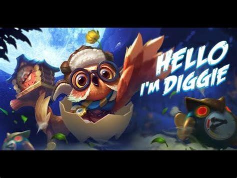digger mobile legend new diggie skills digger mobile legends immortal