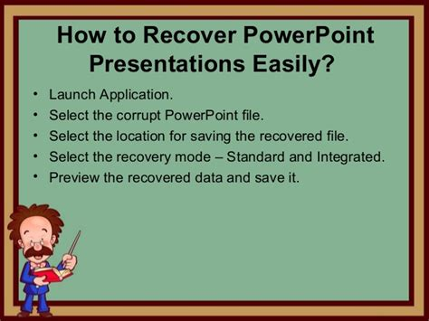fix your corrupted powerpoint presentation file in few clicks repair corrupt ppt file by using ppt recovery tool